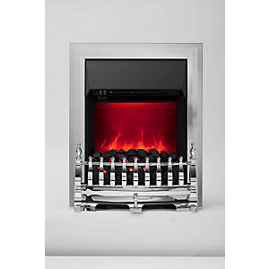 Be Modern Camberley Electric Fire - Chrome