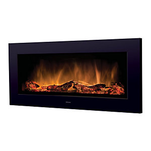 Dimplex SP16 Wall Hung Electric Fire - Black