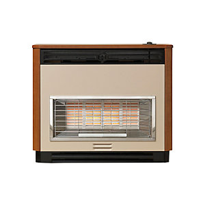 Valor Brava Radiant Gas Fire Teak 0534701