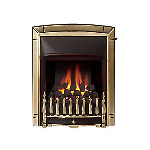 Valor Dream Slimline Convector Gas Fire - Pale Gold