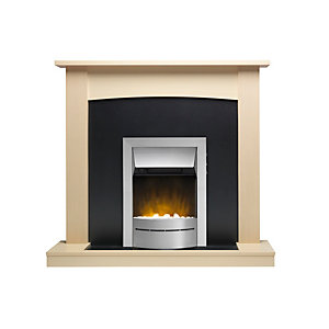 "Valor Teviot Ecolite Electric Suite 18"" Hearth - Maple"