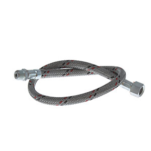 Anglo Nordic 2406001 500mm 1/4m x 1/4F Swivel Oil Line