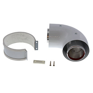 Vokera 2359059 100mm 90 Degree Bend