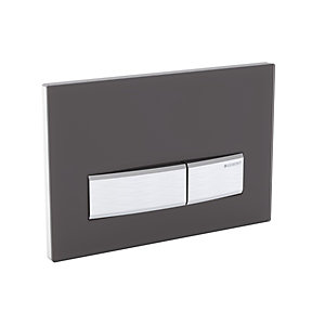 Geberit Sigma 50 Dual Flush Plate Satinglass/Green 115.788.Se.5