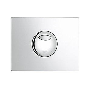 Grohe 38862000 Dual Skate Wallplate Chrome Plated