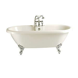 Heritage Oban Double Ended Roll Top Bath 1760 x 790mm BOBW01