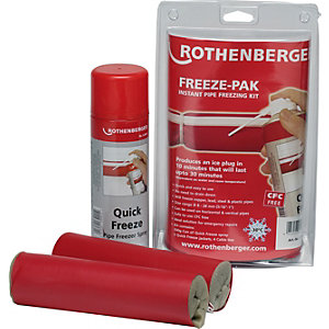 Rothenberger Freeze Pak Pipe Freezing Kit