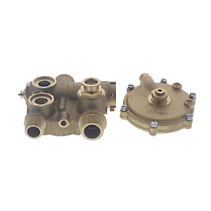 Ariston 3 Way Pressure Guage Valve Group 998069