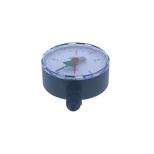 Honeywell Home MF126-A4 Pressure Gauge 1/4 'S'ide Connection