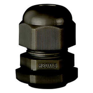 Stag SCG/M20B 20mm Black Dome Top Gland - Pack of 10