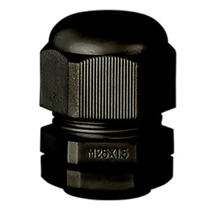 Stag SCG/M25B 25mm Black Dome Top Gland - Pack of 10