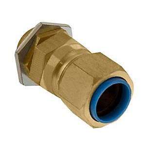 Unicrimp QCW20S 20mm CW Brass Cable Gland