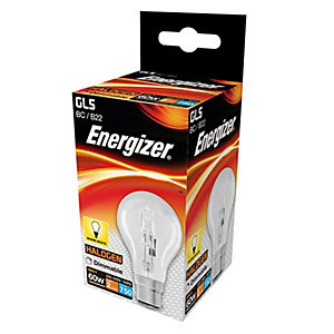 Energizer BC GLS Dimmable Light Bulb - 48W Eco