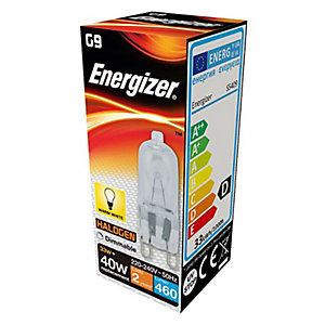 Energizer G9 Capsule Dimmable Light Bulb - 33W Eco