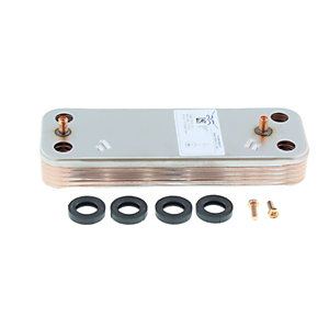 Baxi Heat Exchanger DHW (10 Plate Exchanger) 7225724