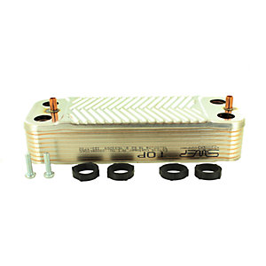 Glow-worm 2000801831 Plate to Plate Heat Exchanger 24CXI 30CXI 38CXI