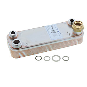 Vaillant 064947 D.H.W. Heat Exchanger