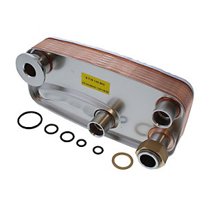 Worcester 87161429030 Plate Heat Exchanger 28CDI Fsp Fsn