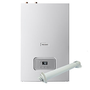 Glow-worm Energy 12R 12kW Heat Only Boiler and Horizontal Flue Pack 10015660