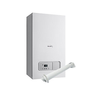 Glow-worm Ultimate3 25kW Heat Only Boiler & Vertical Flue Pack