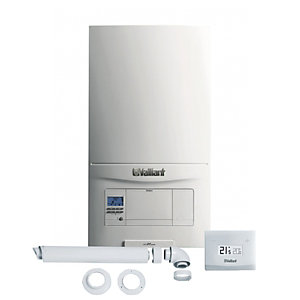Vaillant EcoFIT Pure 418 Heat Only Boiler with Horizontal Flue & VSmart Control