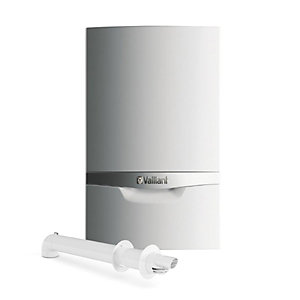 Vaillant ecoTEC plus 400 15kW Heat Only Boiler and Horizontal Flue Pack 10021221
