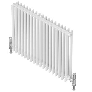 Barlo Adagio D35 Horizontal Double Designer Radiator White 600x1400mm