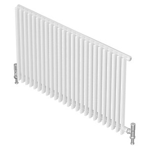 Barlo Adagio S35 Horizontal Single Designer Radiator White 600x630mm