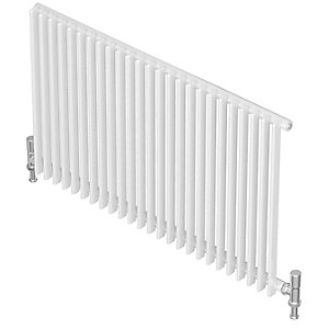 Barlo Adagio S35 Vertical Single Designer Radiator White 600x840mm