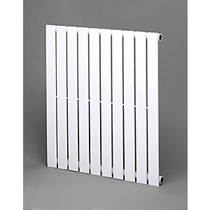 Towelrads Merlo White Single Horizontal Radiator 600mm x 630mm