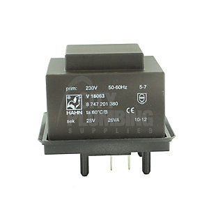 Worcester Bosch Transformer - Black 87472013190