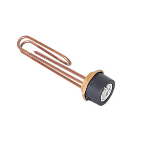 Tesla 14 inch Copper Immersion Heater & Thermostat