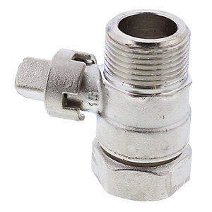 "Alpha Isolating Valve 3/4"" Flow & Return 1.015491"