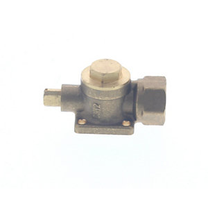 Baxi 5107787 Gas Cock Flanged 15mm