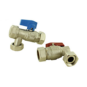 Ferroli 39027870 Flow and Return Valve