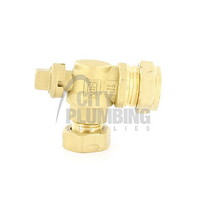 Vokera 7100 3/4in Flow and Return Valves (Excell)