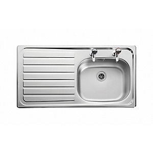 Boss™ 950 x 508 2 Tap Hole Left Hand Sink