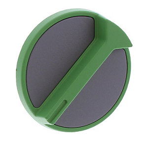 Worcester 87161410870 Control Knob - Green / Grey