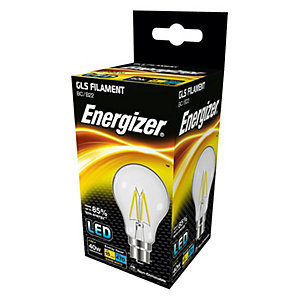 Energizer BC GLS Filament LED Light Bulb - 4.3W