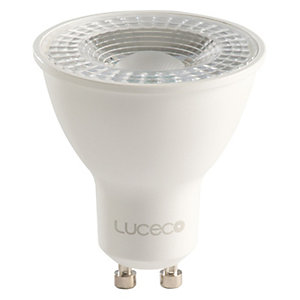Luceco GU10 Dimmable LED Light Bulb - 5W Cool White