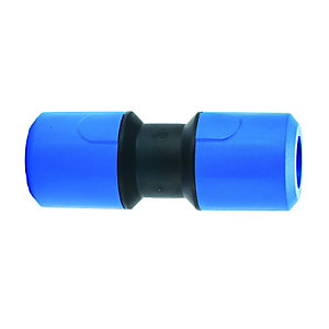 JG Speedfit Blue MDPE Equal Straight Connector 25mm - UG402B