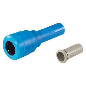 "JG Speedfit Blue MDPE Imperial Connector 25mm x 3/4"" - UGIC02"