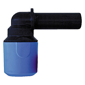 JG Speedfit Blue MDPE Stem Elbow 20 x 25mm - UG222025B