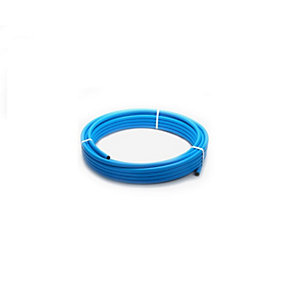 Wavin MDPE Blue Pipe Coil 63mm x 100m - 63PW100