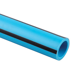Wavin MDPE Blue Pipe Coil 63mm x 25m - 63PW025