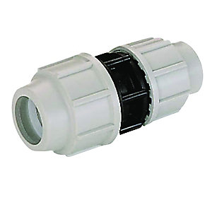 Plasson Compression Connection Reducing Coupler 50mm x 32mm - 7110GE0