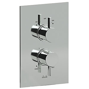 Abode Harmonie Thermostatic Mixer Shower (2 Way Diverter) AB2217