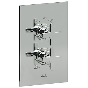Abode Serenitie Concealed Thermostatic Shower Mixer Dual Exit  AB2218