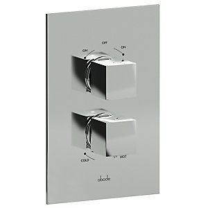 Abode Zeal Thermostatic Mixer Shower (2 Way Diverter) AB2214