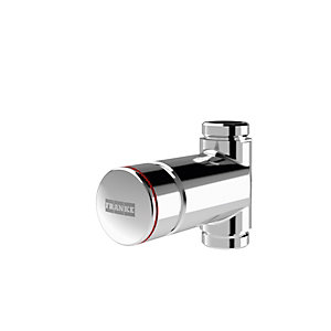Franke F3S Self-closing Straight Way Shower Valve Ext Thread